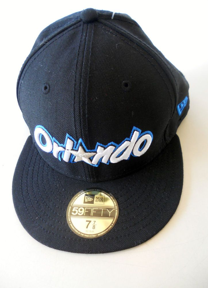 885ad532e7b ORLANDO MAGIC NEW ERA 59 FIFTY 7 7 8 - NBA FITTED CAP  HAT ADULT BLACK   NewEra  OrlandoMagic