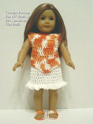 Crochet Pattern PO25 for 18\