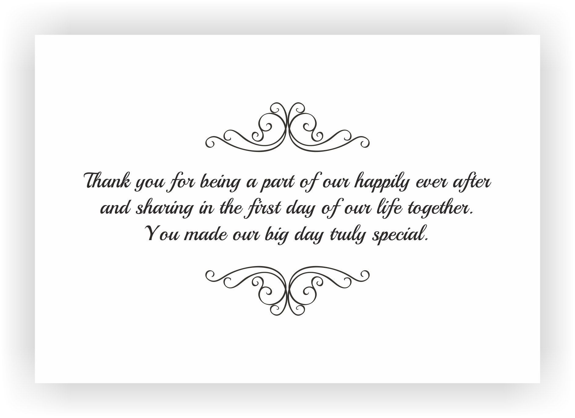 Wedding Gift Thank Yous: Image Result For Wedding Thank You Message