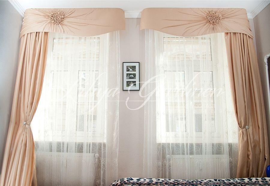 Moderne Schlafzimmer Gardinen nach Maß (With images