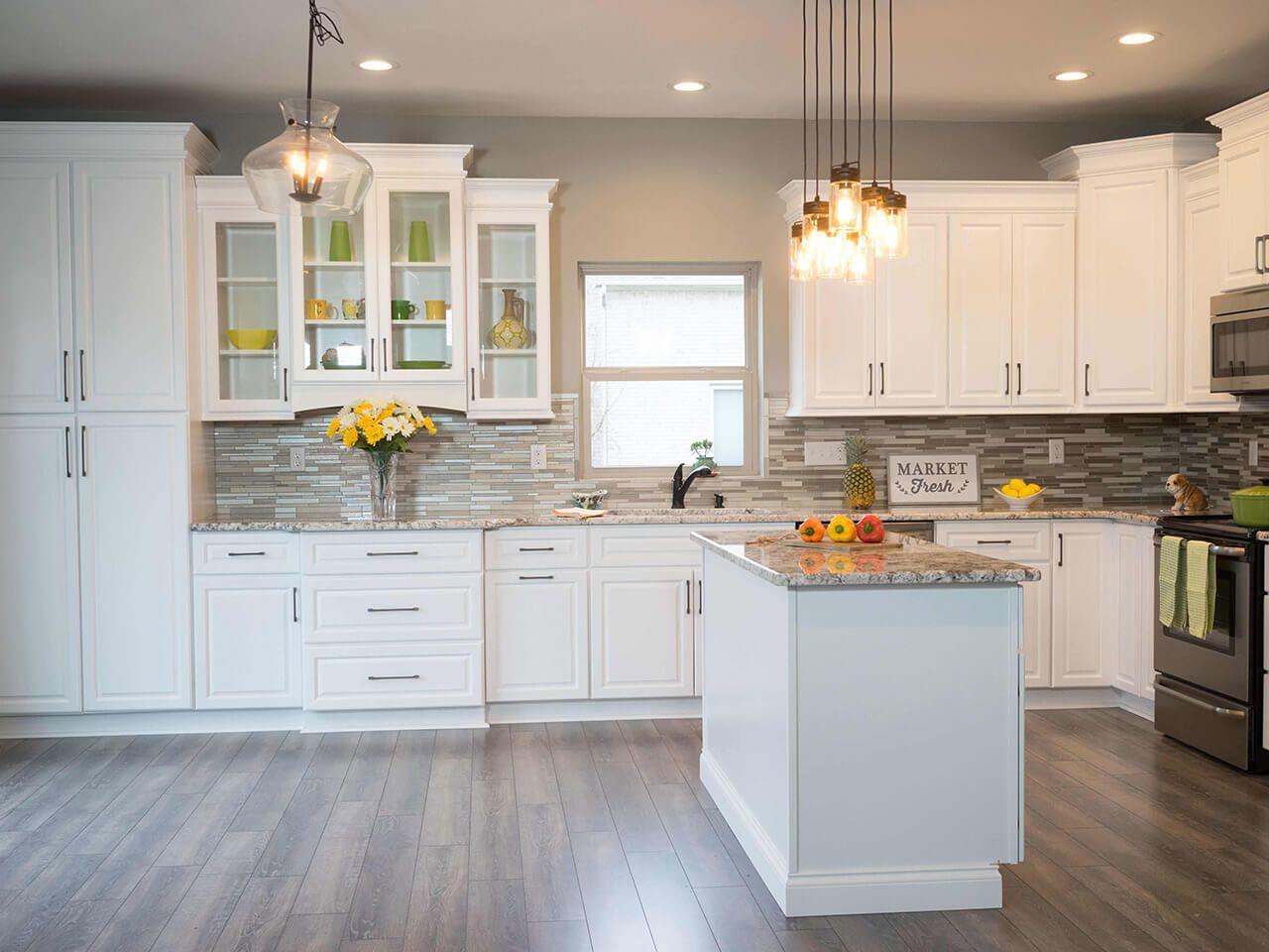 Key Largo White 43 Kitchen Cabinets For Sale Elegant Kitchens Contemporary Kitchen Cabinets
