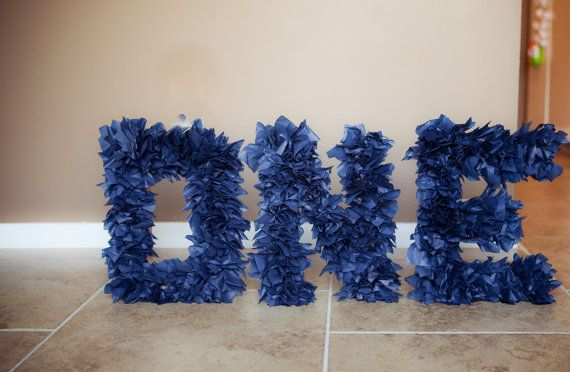 ONE NAVY BLUE  1st birthday photo prop by tutujunkies on Etsy