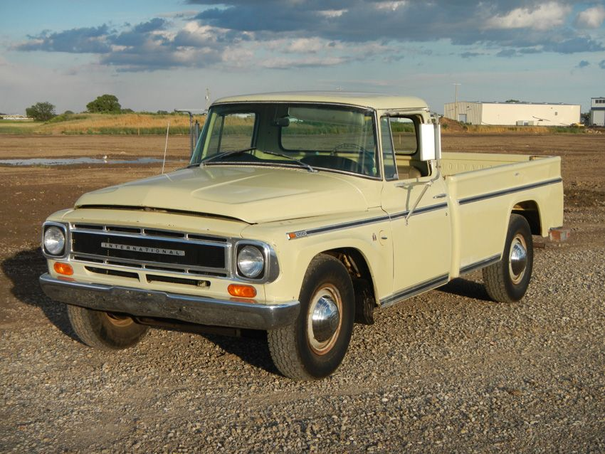 1968 International 1200c 3 4 Ton Pickup Maintenance Restoration Of