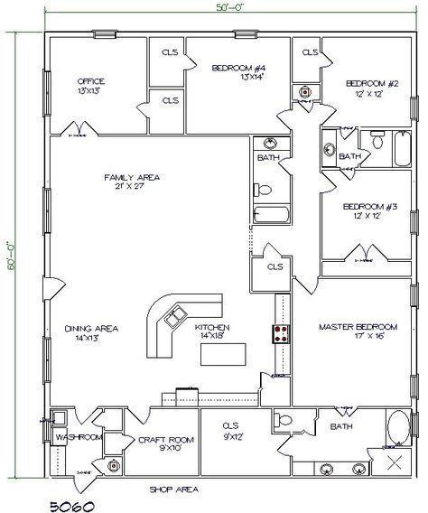 LOVE THIS ONE Texas Barndominiums Texas Metal Homes Texas Steel – Steel Home Floor Plans Texas