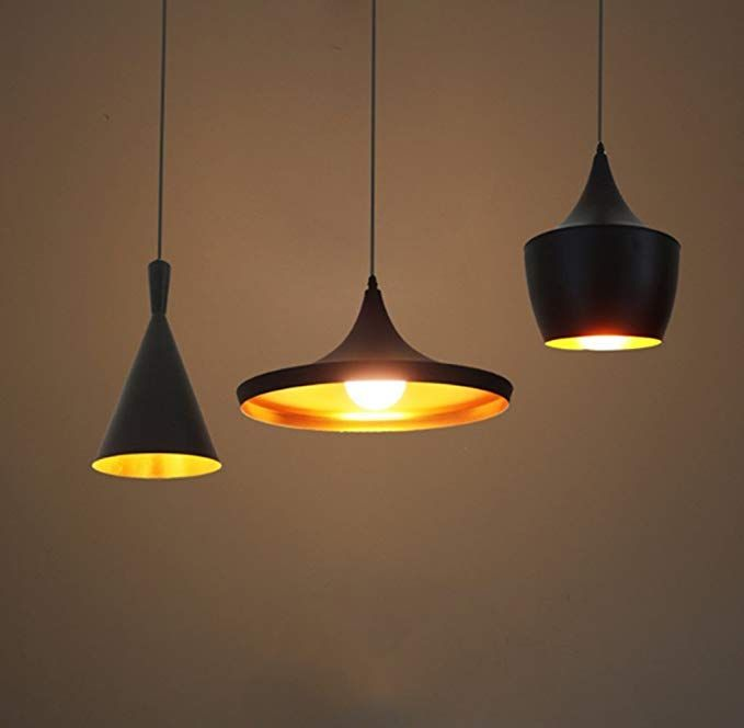 Mengjay lampadario LED, moderno, vintage, in metallo