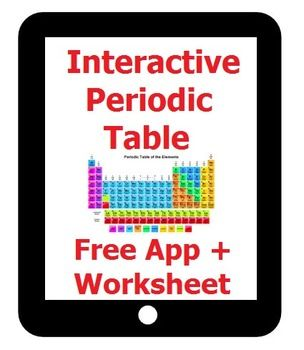 Interactive periodic table response sheet for nova ipad free app interactive periodic table response sheet for nova ipad free app urtaz Gallery