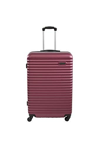 9a3ecec5fc Valise Cabine 4 Roues 55cm ABS Rigide Classiq - Trolley ADC  #Bagagesetmaroquinerie #Valisesetsacsdevoyage #
