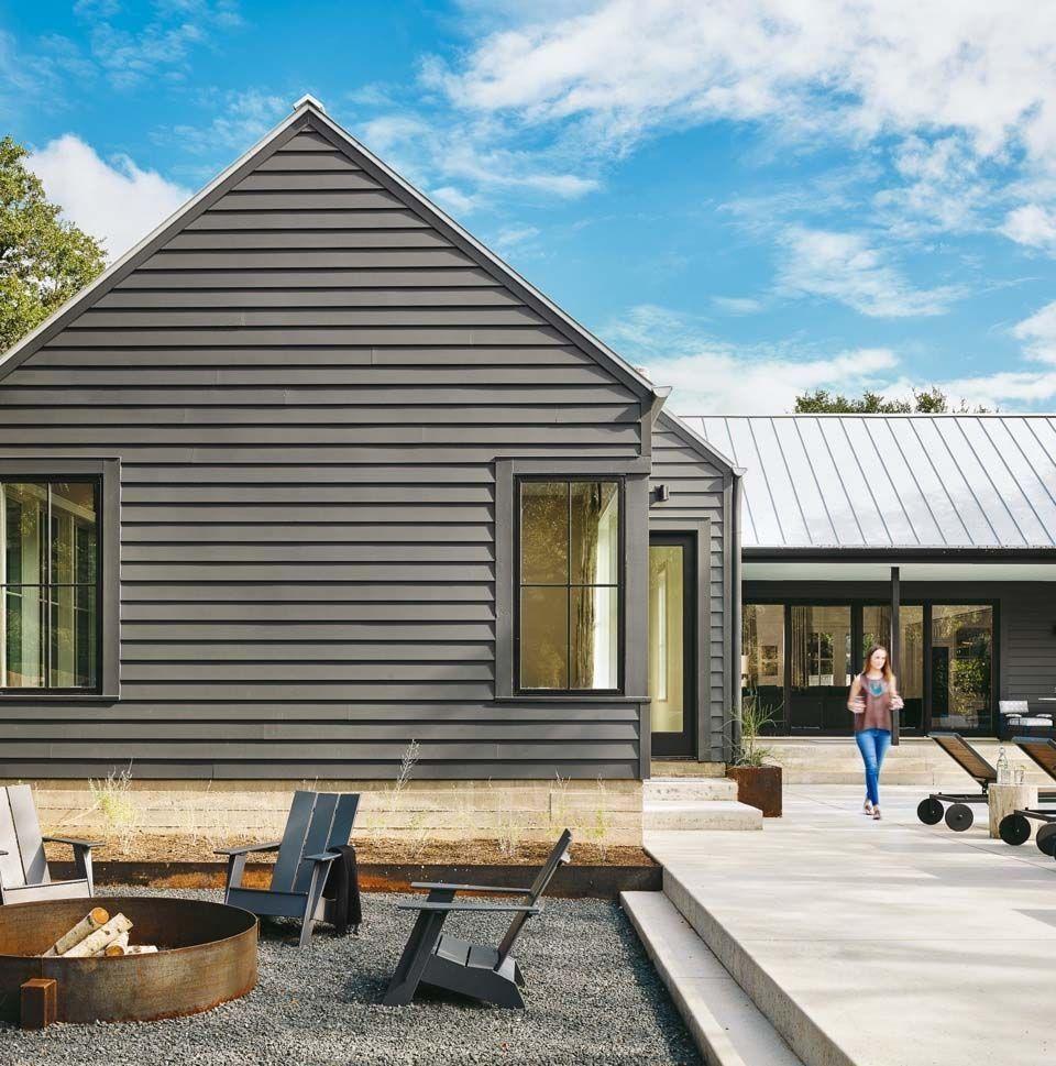 46 Brilliant Farmhouse Architecture Ideas #modernfarmhousestyle