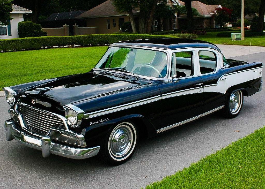 1956 Studebaker President Sedan....unusual but classy ...