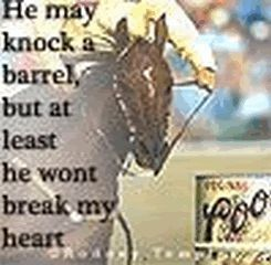 Barrel Racing Quotes Awesome Barrel Racing Poems Or Quotesquotesgramquotesgram  Rodeo