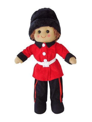 Powell Craft Soldier Rag Dolls at Dandy Lions Childrens shop - Dandy Lions Boutique