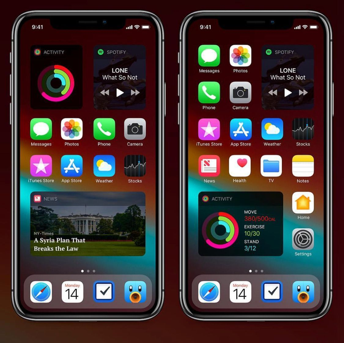 Pin by Jas on iPhone in 2020 Apple products, Homescreen