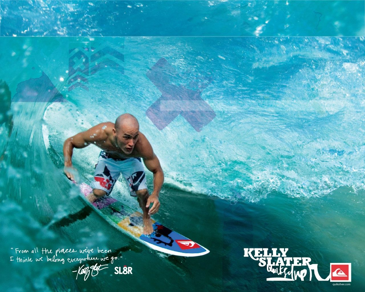 Kelly Slater Quiksilver Wallpaper