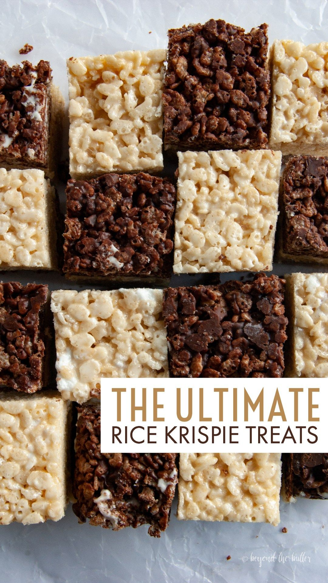 The Ultimate Rice Krispie Treats  Beyond The Butter