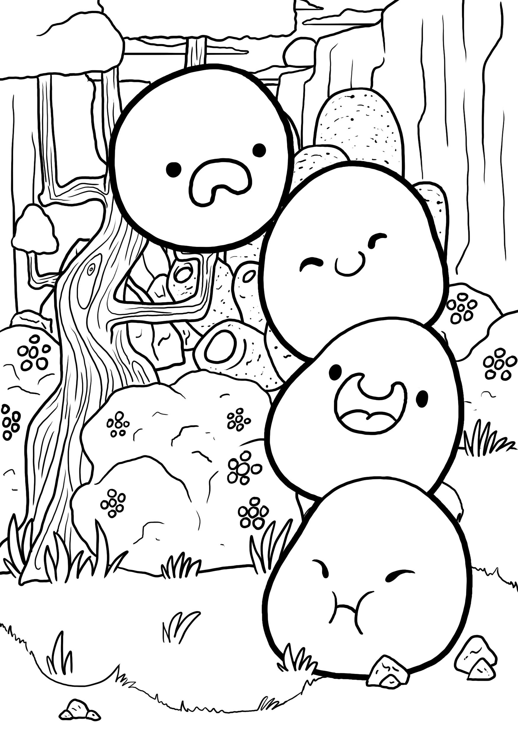 Slime Rancher Colouring Pages Coloring Pages Coloring Books Slime