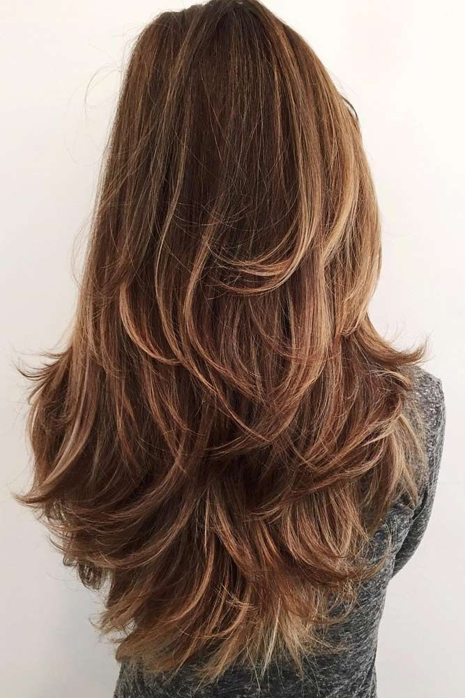 15 Super Cool Long Layered Haircut With Bangs In 2018 Hairstyle