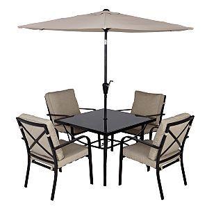 haversham 2 patio set 6 piece haversham 2 asda direct. Black Bedroom Furniture Sets. Home Design Ideas