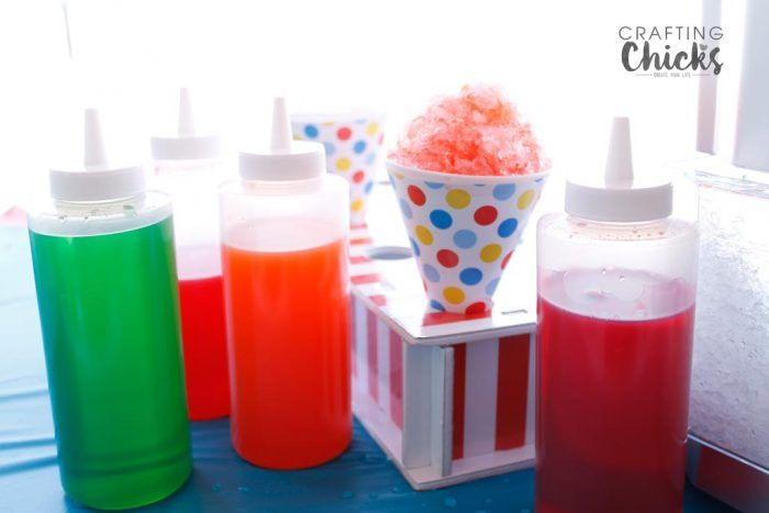 DIY Snow Cone Stand