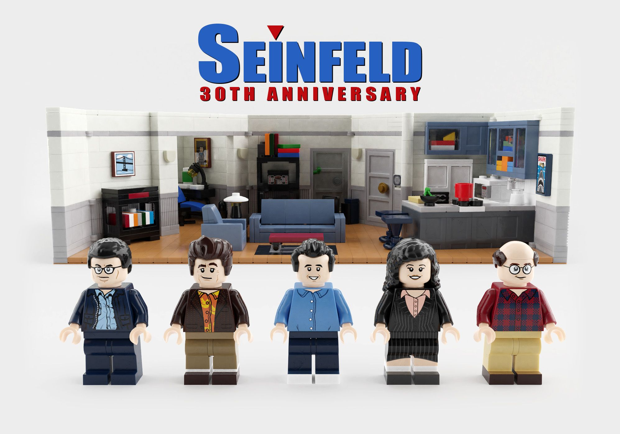 Seinfeld Lego Set With Images Lego Tv Seinfeld Gifts Seinfeld