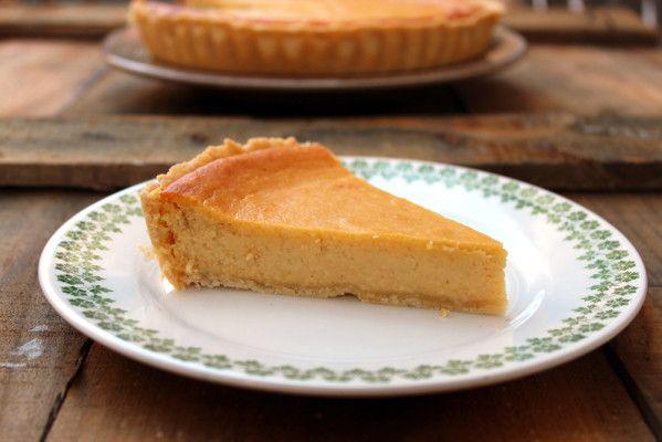 Tarta de queso, almendra y mango - El Aderezo - Blog de Recetas de Cocina