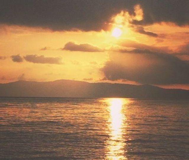 Playa Cativo Hotel Review sunset