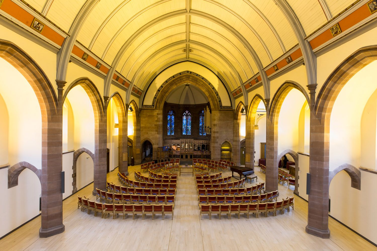 Church refurbishment and renovation featuring wood floor tiles church refurbishment and renovation featuring wood floor tiles solus ceramics in scotland dailygadgetfo Images