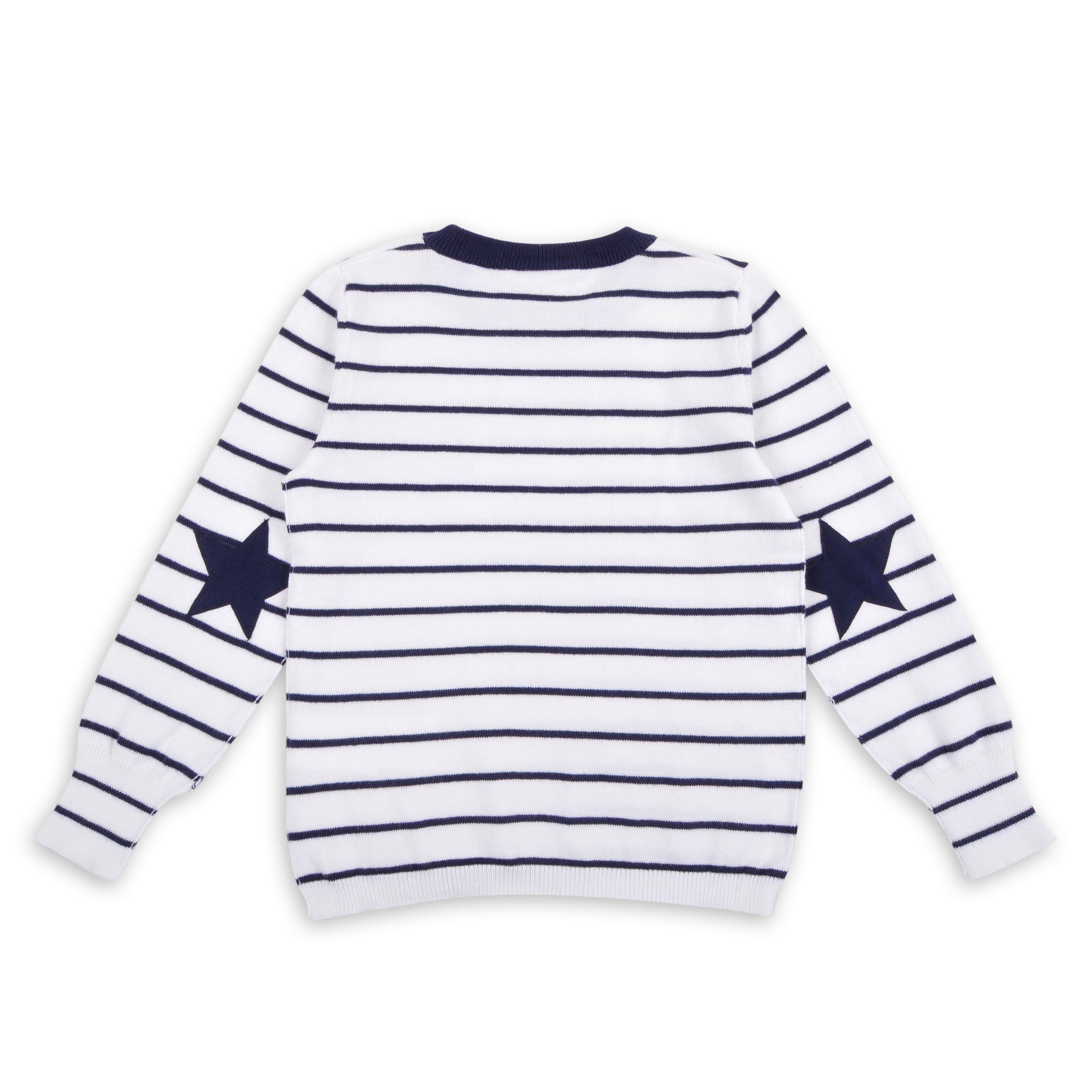 04e86d530 Sueter de rayas navy con estrellas - EPK | infantil | Ropa, Chaqueta ...