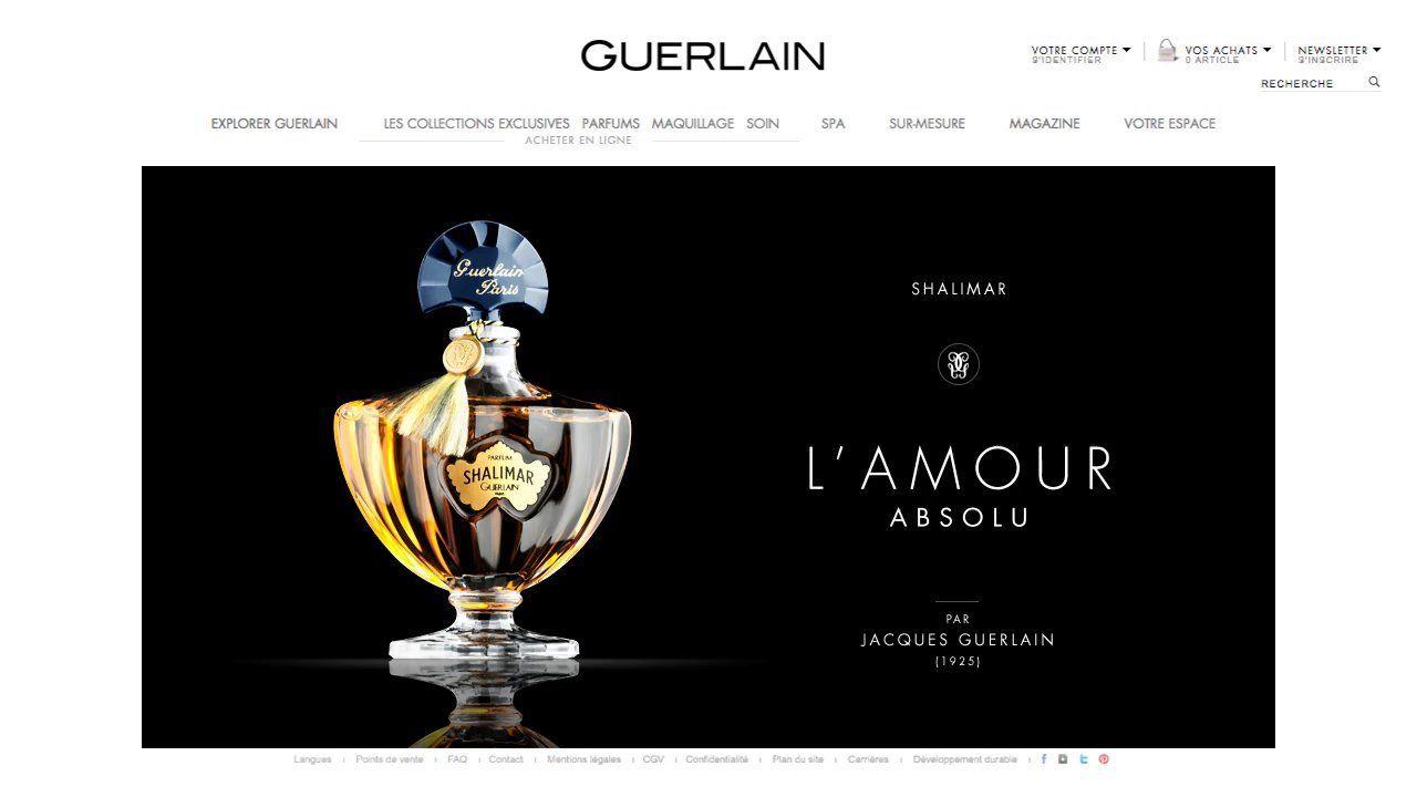 Nouvelle plateforme de marque Guerlain