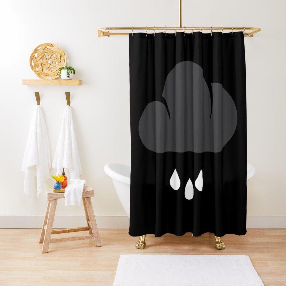 Cloud Shower Curtain