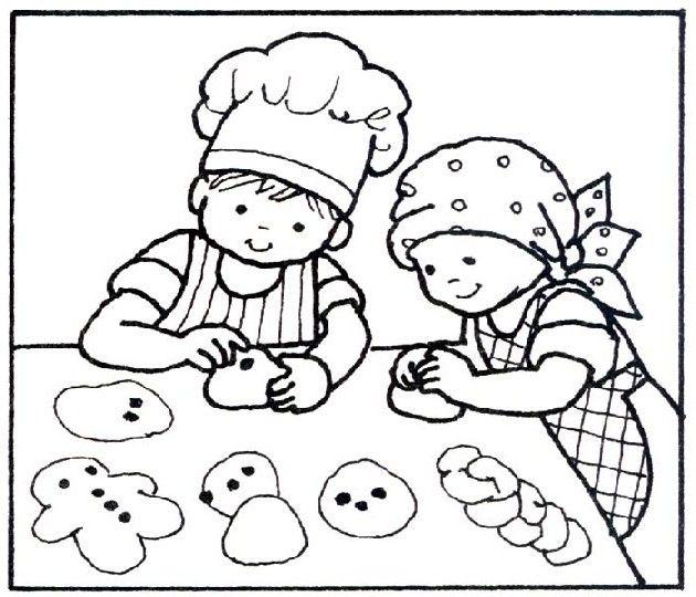 cocina para niños para colorear - Buscar con Google | Cocina para ...