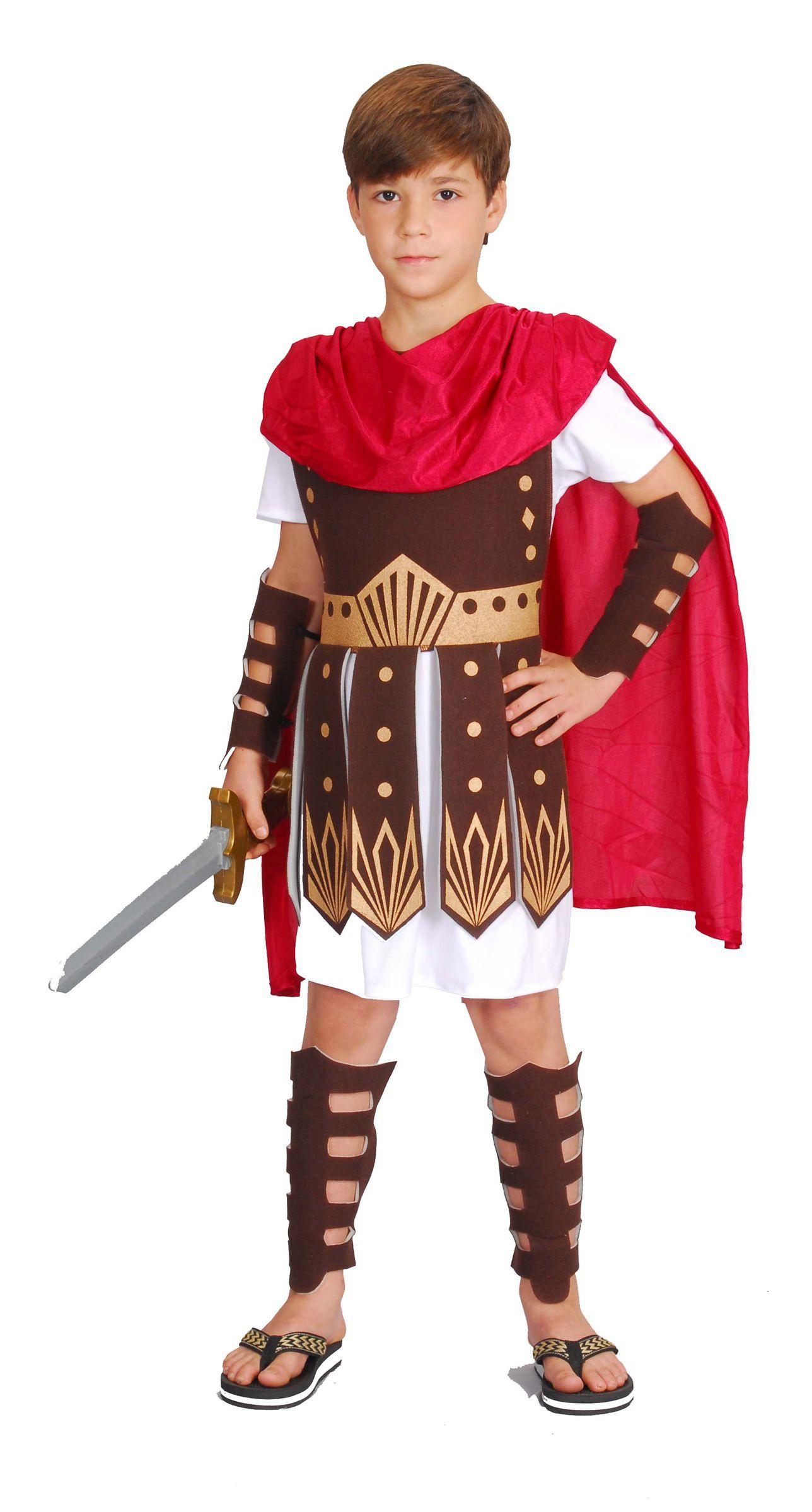 276dd8c03a Costume da centurione romano per bambino: bello, comodo ed economico,  questo abito da antico romano ha tutto quello che ti serve per travestire i  tuoi ...