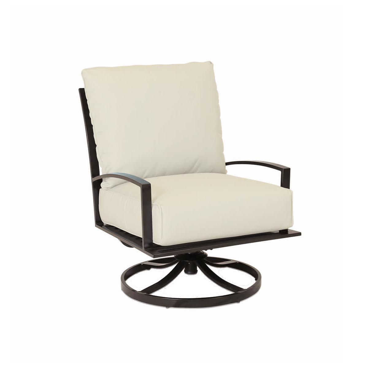 Sunset West La Jolla Aluminum Patio Swivel Rocker Club Chair