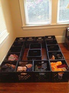 Creative Uses For Milk Crates Milk Crate Furniture