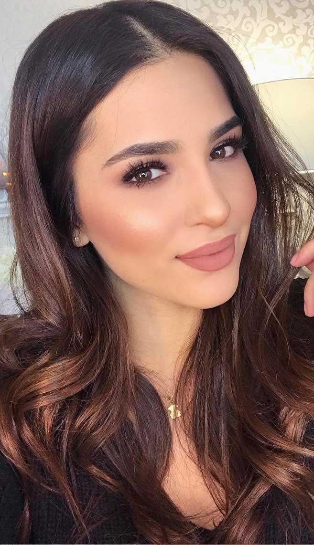 75 Wedding Makeup Ideas To Suit Every Bride -   16 makeup Sencillo brown eyes ideas