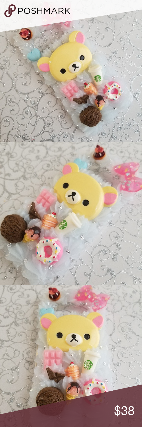 S10e cute kawaii sweets decoden phone case (With images
