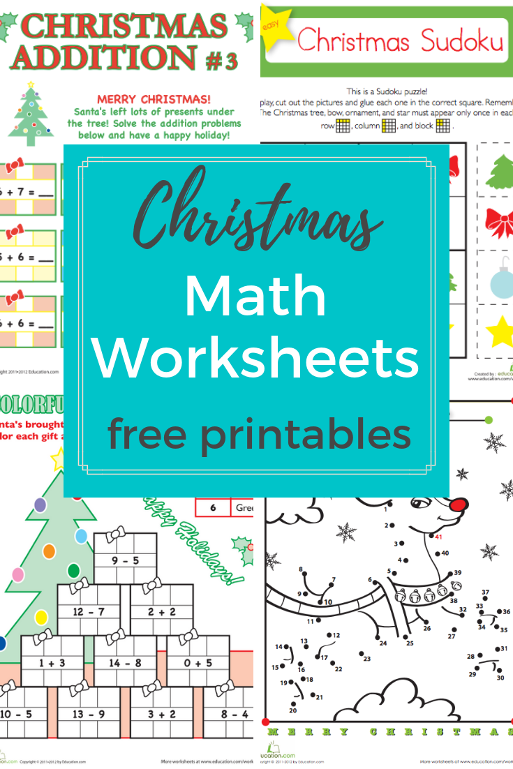Browse More Than A Hundred Christmas Themed Math Worksheets To Do With Your Preschool Holiday Math Worksheets Christmas Math Worksheets Mathematics Worksheets [ 1102 x 735 Pixel ]