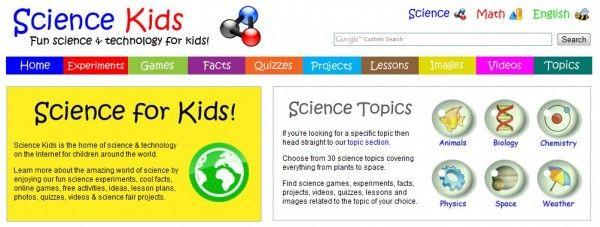 Sitios para aprender y realizar experimentos científicos con los niños #backtoschool