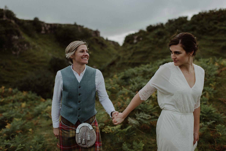 lesbian weddings scotland Gay