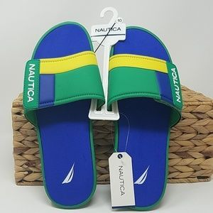 NWT Nautica Mens 10 Bower Sandals C5B