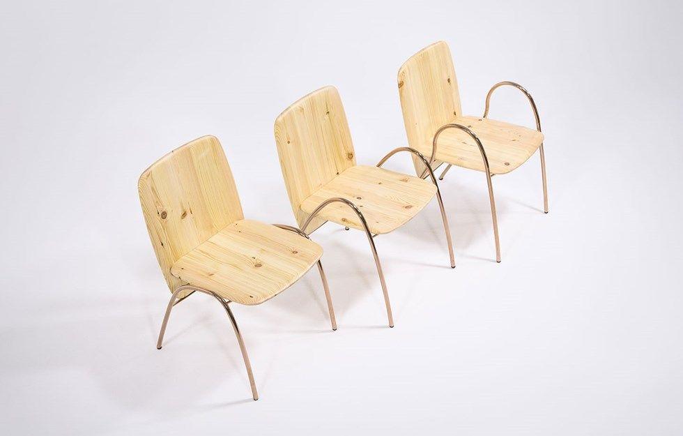Balansstol designad av Zhang Junjie - Svenskt Trä