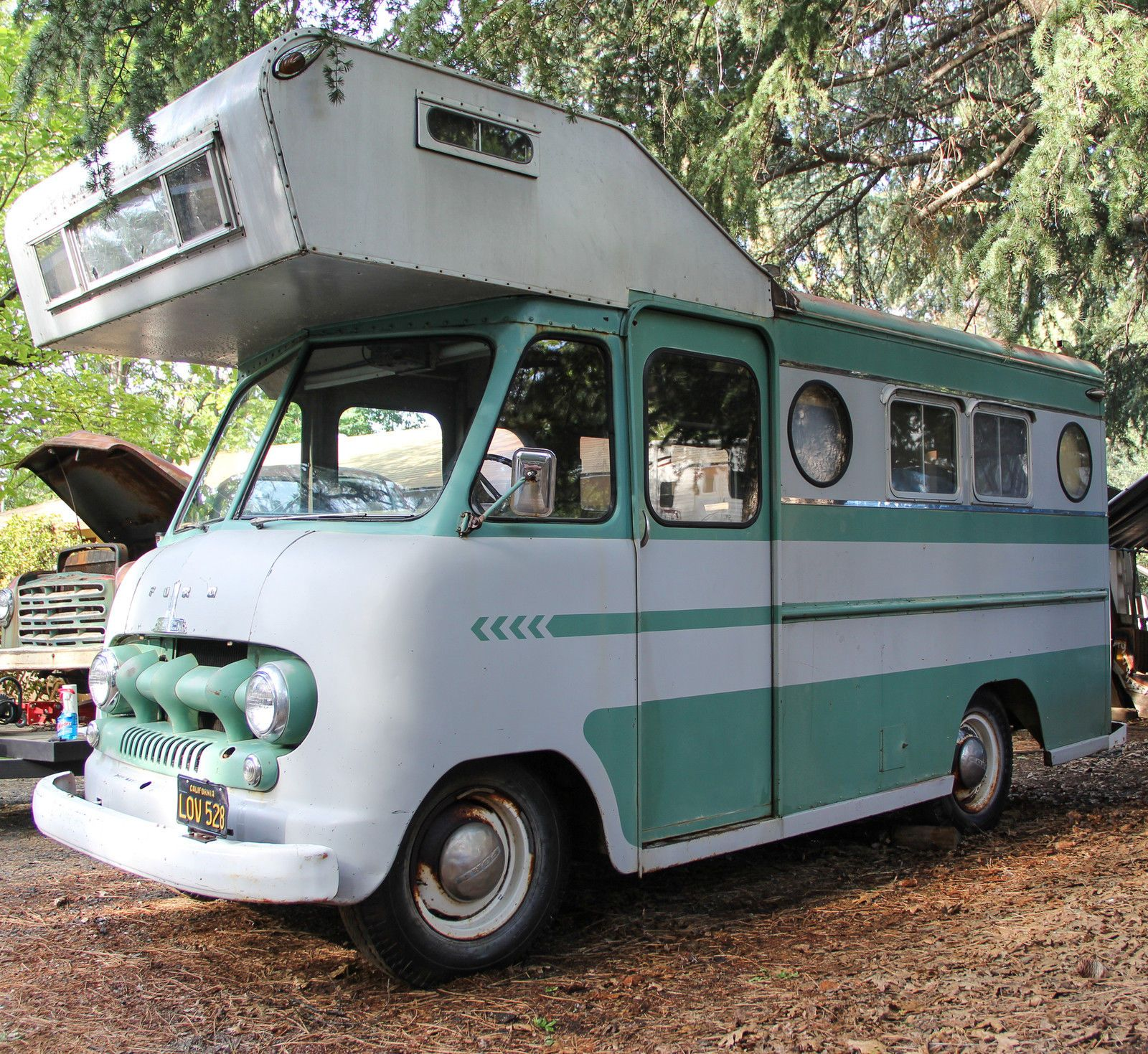 1951 Ford Boyertown body Paradise, CA Vintage camper