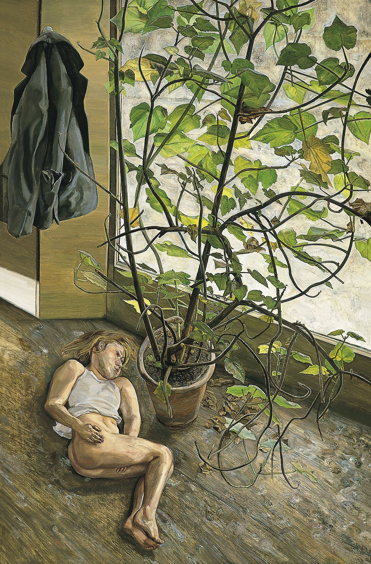 Lucian Freud, Great Interior,1968