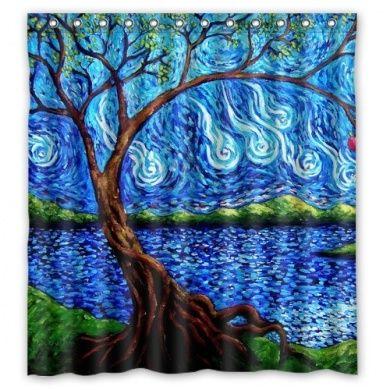 Generic Unique Tree Of Life Colourful Tree Design Waterproof