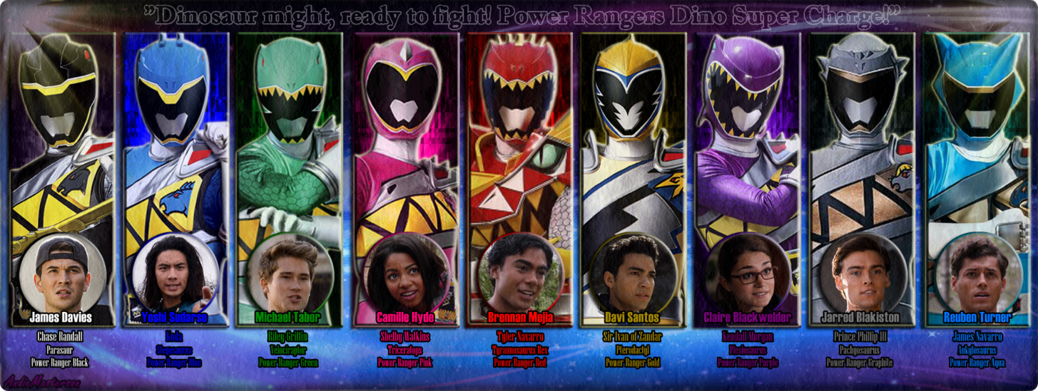 - Power Rangers Dino Super Charge By AndieMasterson (With Images