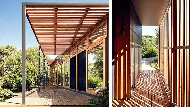 For This Holiday House In Shoreham Victoria Architect Claire Scorpo Used Fixed Horizontal And