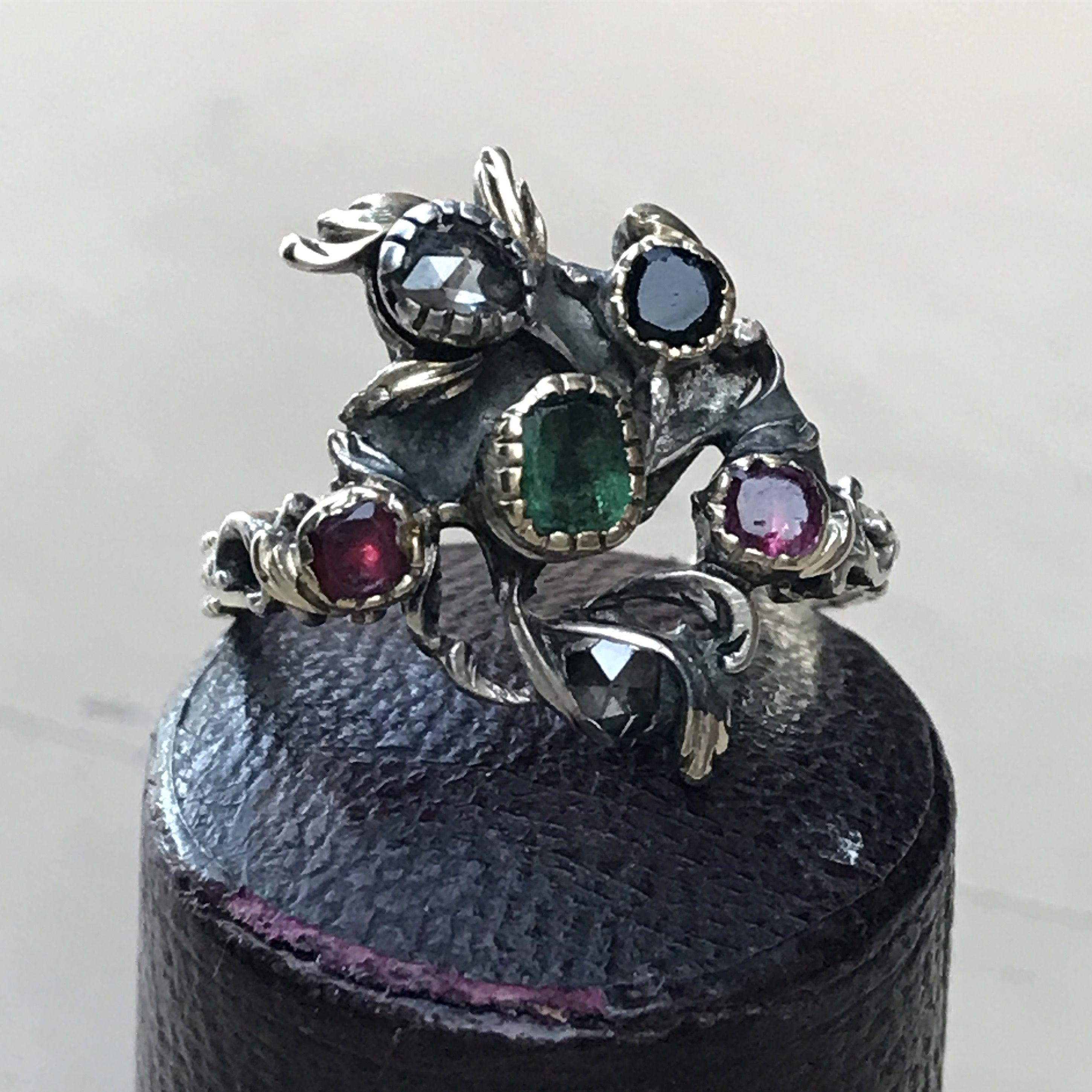 ring 18th century Vintage jewels, Antique