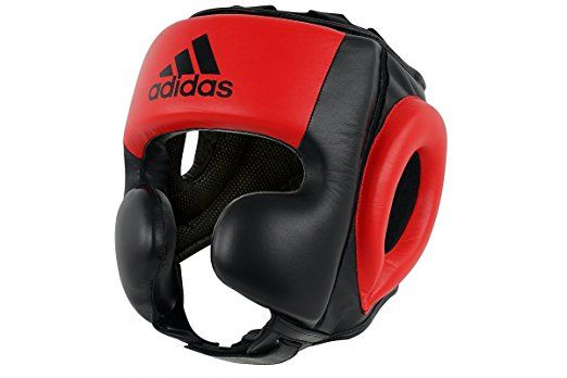 Fast Shipping. MMA All Black Color with Chin Strape Head Gear for Boxing