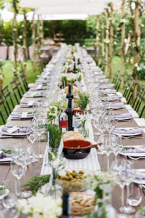Decoraci n mesa r stica fiestas pinterest for Decoracion mesa rustica