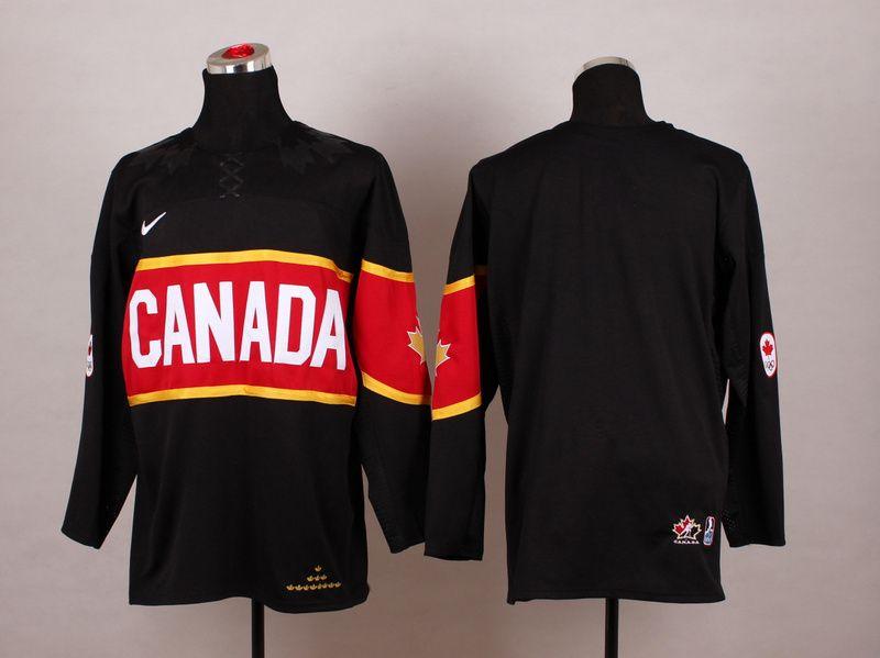 Team Canada 2014 Olympic Black Stitched Nhl Jersey Hoodies Womens Nhl Jerseys Olympic Hockey
