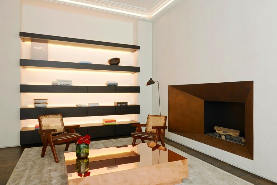 Simplicity Love: KKDC - Obumex Showroom, Paris | Joseph Dirand looks very nice!